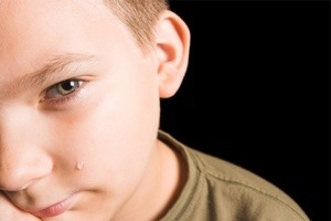 Crying is healthy for boys and men