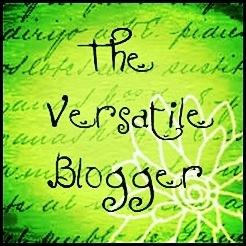 Versitile blogger award.