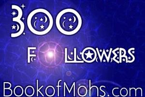 300 followers blog book of mohs