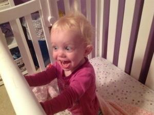 baby screaming wants to eat breakfast
